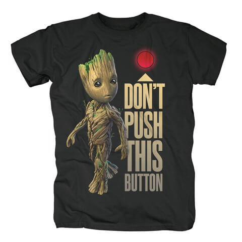 Groot Button von Guardians of the Galaxy - T-Shirt jetzt im Bravado Shop