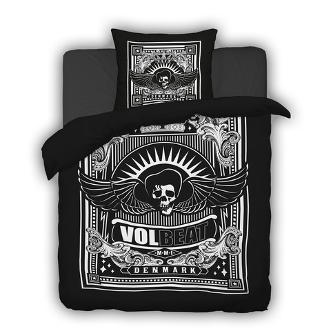 Skullwing Ornament von Volbeat - Bettwäsche jetzt im Bravado Shop