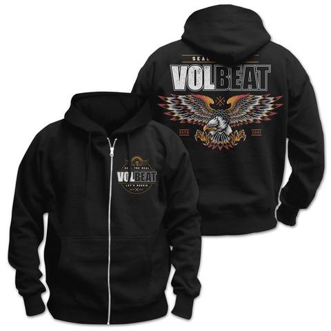 √Victorious von Volbeat - Hooded jacket jetzt im Bravado Shop
