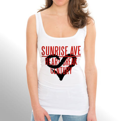 √Heartbreak Century Logo von Sunrise Avenue - Girlie Top jetzt im Bravado Shop
