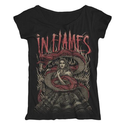 Snake Woman von In Flames - Girlie Shirt Loose Fit jetzt im Bravado Shop