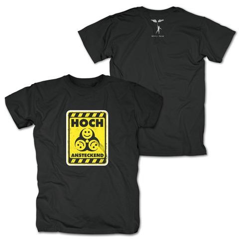 Warnung: Hoch Ansteckend von Rebell Comedy - T-Shirt jetzt im Bravado Shop