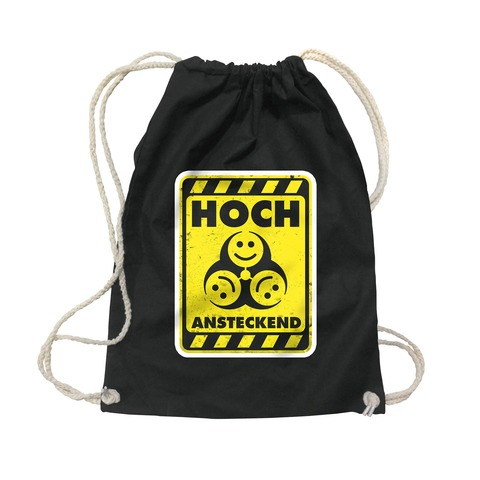 √Warnung: Hoch Ansteckend von Rebell Comedy - Gym Bag jetzt im Bravado Shop