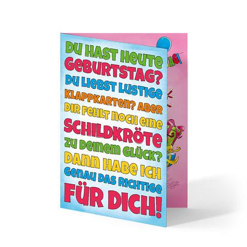 √Geburtstag von Sascha Grammel - Glückwunschkarte jetzt im Bravado Shop