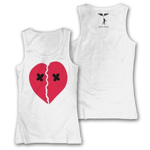 Broken Heart von Rebell Comedy - Girlie Tank Top jetzt im Bravado Shop