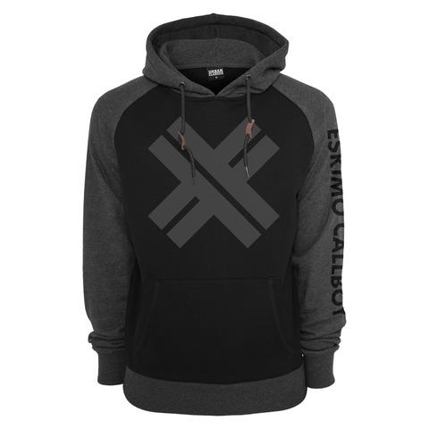 √Black on Grey von Eskimo Callboy - Hood sweater jetzt im Bravado Shop