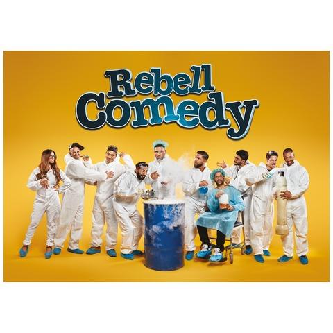 √Hoch Ansteckend von Rebell Comedy - Poster Din A1 jetzt im Bravado Shop