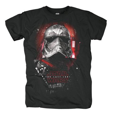 Phasma Portrait von Star Wars - T-Shirt jetzt im Bravado Shop