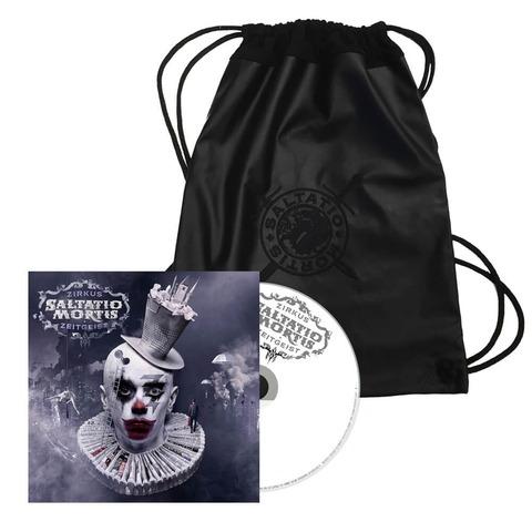 Logo Gym Bag + Zirkus Zeitgeist CD von Saltatio Mortis - Bundle jetzt im Bravado Shop