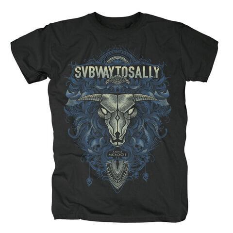 √Floral Bull von Subway To Sally - T-Shirt jetzt im Bravado Shop