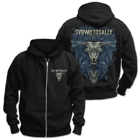 √Floral Bull von Subway To Sally - Hooded jacket jetzt im Bravado Shop