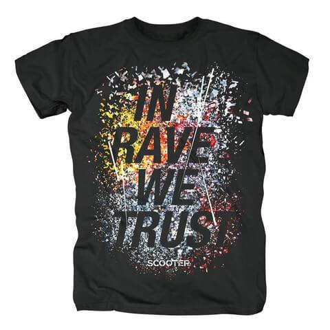 √In Rave We Trust von Scooter - T-Shirt jetzt im Bravado Shop