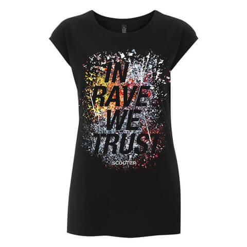 √In Rave We Trust von Scooter - Girlie Shirt jetzt im Bravado Shop