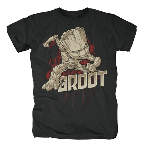 √Angry Groot von Guardians of the Galaxy - T-Shirt jetzt im Bravado Shop