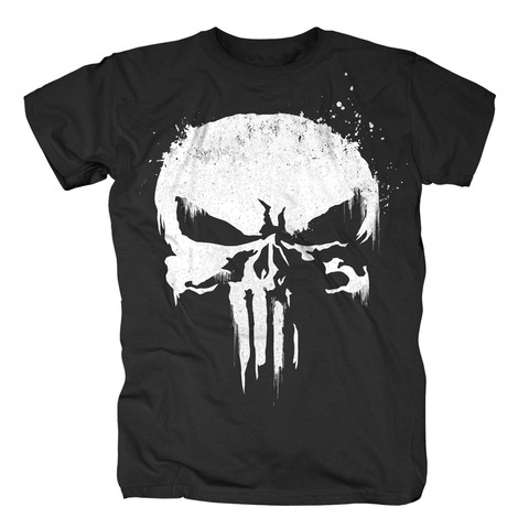 √Sprayed Skull Logo von The Punisher - T-Shirt jetzt im Bravado Shop
