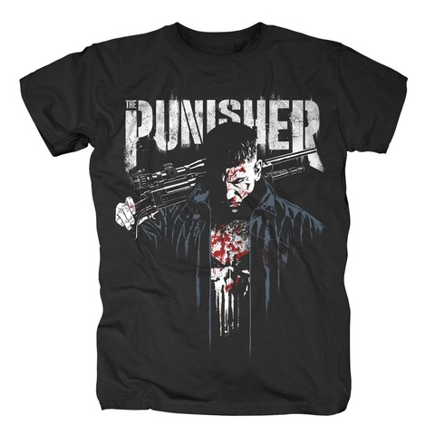 √Dressed In Blood von The Punisher - T-Shirt jetzt im Bravado Shop