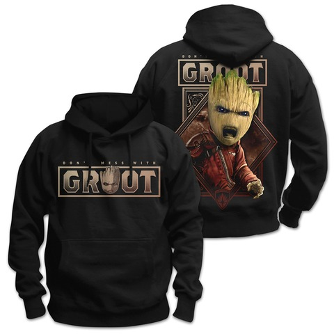 √Don't Mess With Groot von Guardians of the Galaxy - Hood sweater jetzt im Bravado Shop