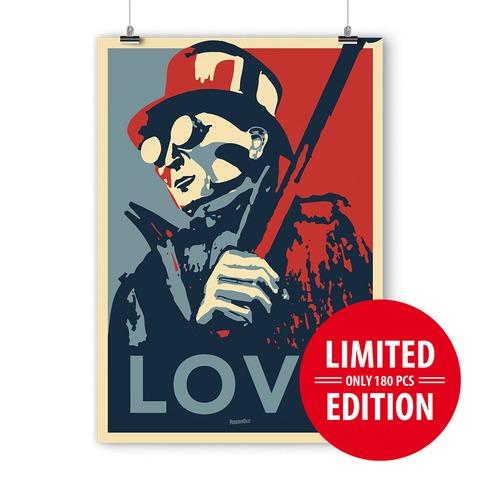√LOVE von ParookaVille Festival - Siebdruckposter jetzt im Bravado Shop