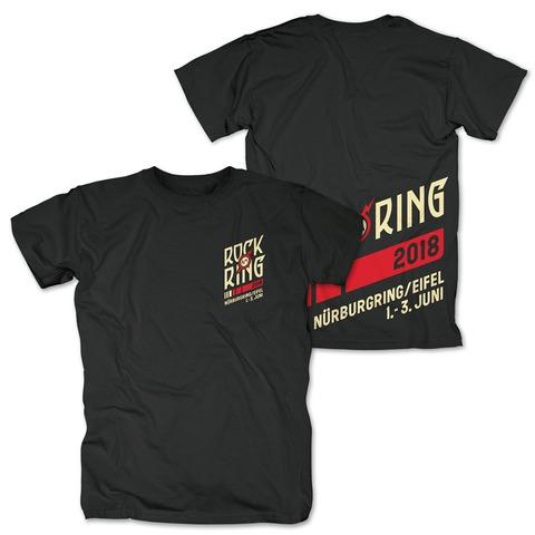 √Rocking Team 2018 von Rock am Ring Festival - T-Shirt jetzt im Bravado Shop