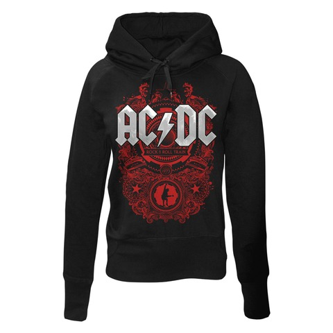 √Rock N Roll Train von AC/DC - Girlie hooded sweater jetzt im Bravado Shop