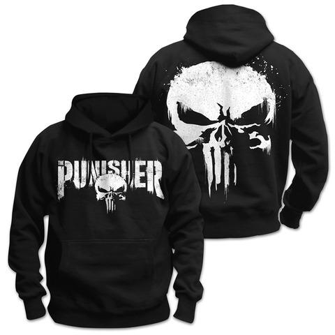 √Sprayed Skull Logo von The Punisher - Kapuzenpullover jetzt im Bravado Shop