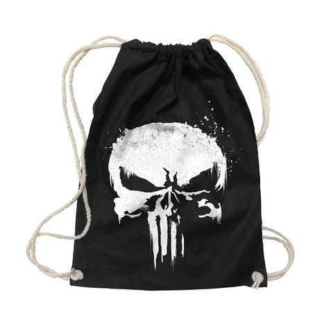 Sprayed Skull Logo von The Punisher - Gym Bag jetzt im Bravado Shop
