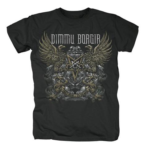 √25 Years von Dimmu Borgir - T-Shirt jetzt im Bravado Shop