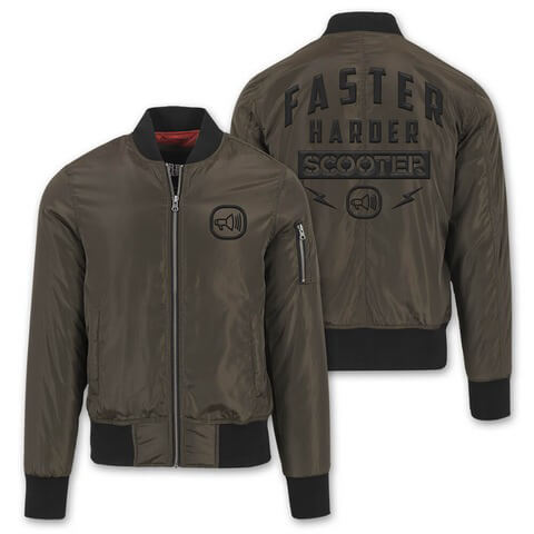 √Faster Harder Scooter von Scooter - Bomber Jacke jetzt im Bravado Shop