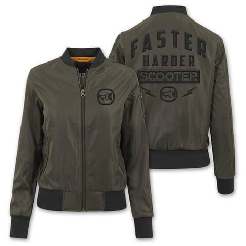 √Faster Harder Scooter von Scooter - Girlie Bomber Jacke jetzt im Bravado Shop
