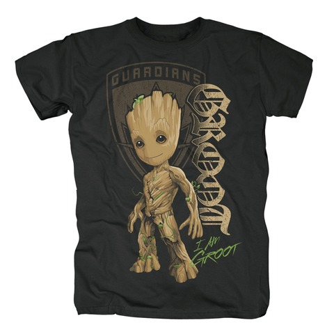 √Groot Shield von Guardians of the Galaxy - T-shirt jetzt im Bravado Shop