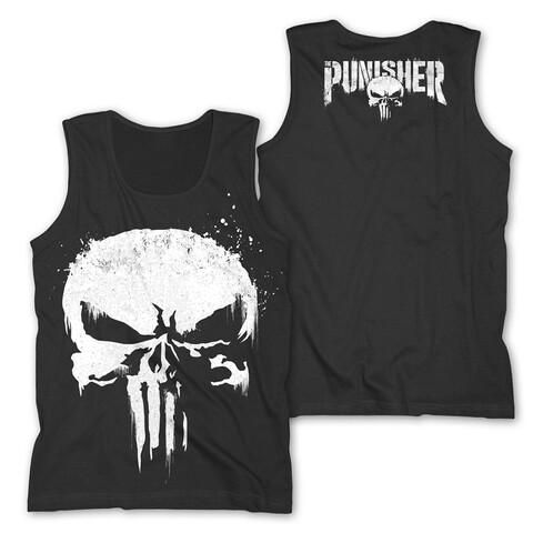 √Sprayed Skull Logo von The Punisher - Tank Shirt jetzt im Bravado Shop