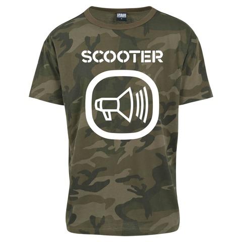 √Camo Logo von Scooter - T-Shirt jetzt im Bravado Shop