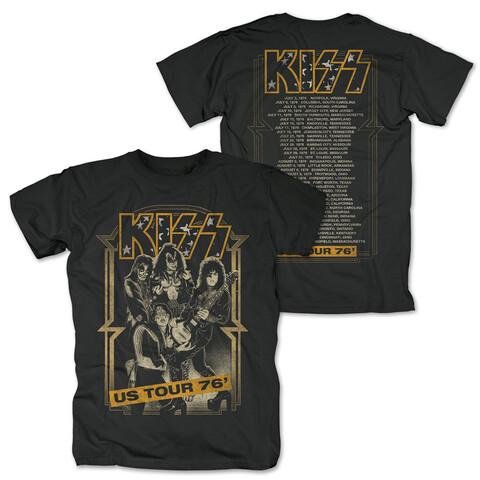 √US Tour 76 von Kiss - T-Shirt jetzt im Bravado Shop