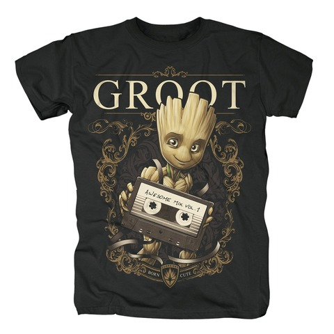 √Groot Ornaments von Guardians of the Galaxy - T-Shirt jetzt im Bravado Shop