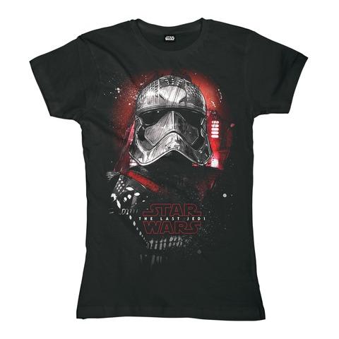 √Phasma Portrait von Star Wars - Girlie Shirt jetzt im Bravado Shop