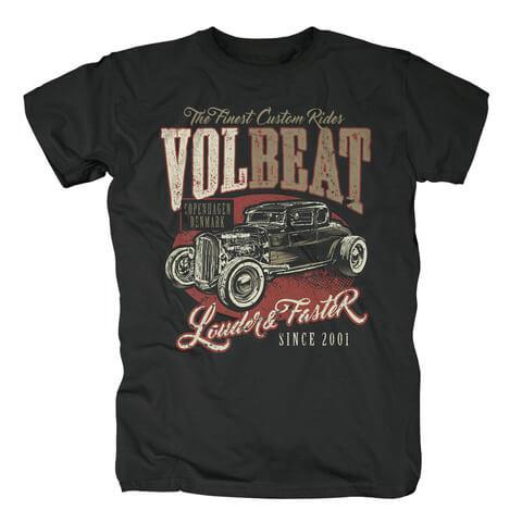 √Louder & Faster von Volbeat - T-Shirt jetzt im Bravado Shop