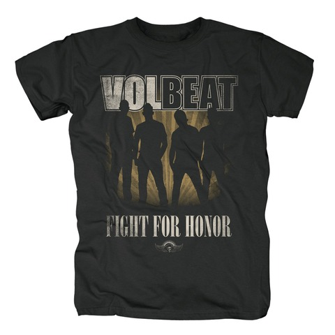 √Fight For Honor Silhouette von Volbeat - T-Shirt jetzt im Bravado Shop