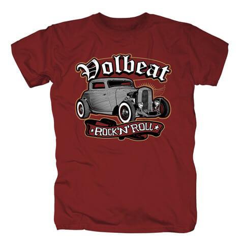 √Rock N Roll Red von Volbeat - T-Shirt jetzt im Bravado Shop