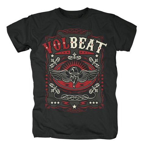 √Western Wings Black von Volbeat - T-Shirt jetzt im Bravado Shop