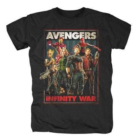 √Infinity War von Avengers - T-Shirt jetzt im Bravado Shop