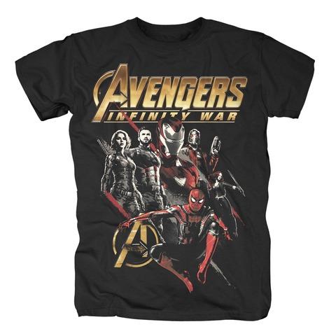 Red Squad von Avengers - T-Shirt jetzt im Bravado Shop