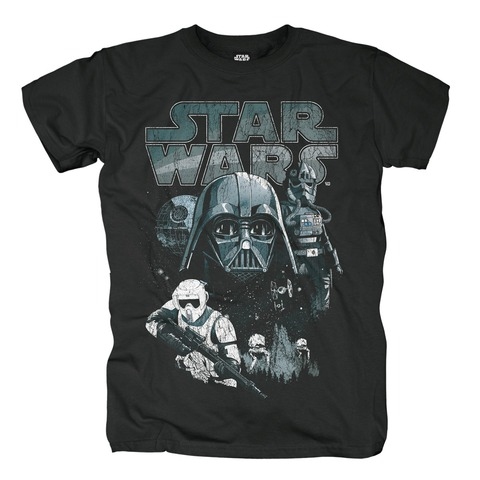 √Dark Side Characters von Star Wars - T-Shirt jetzt im Bravado Shop