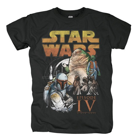 Tatooine Adventures von Star Wars - T-Shirt jetzt im Bravado Shop
