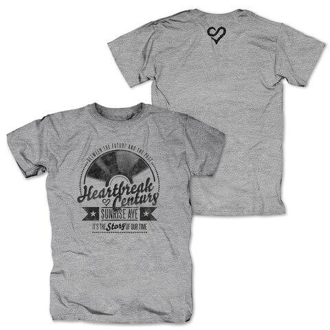 √Vinyl Heart von Sunrise Avenue - T-Shirt jetzt im Bravado Shop