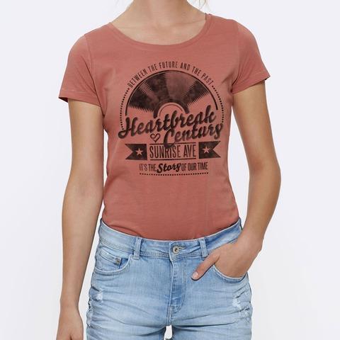 √Vinyl Heart von Sunrise Avenue - Girlie Shirt jetzt im Bravado Shop