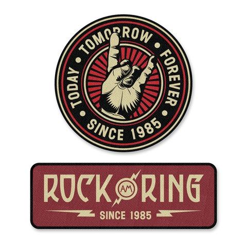 √Rock am Ring 2018 von Rock am Ring Festival - 2er Aufnäher Set jetzt im Bravado Shop