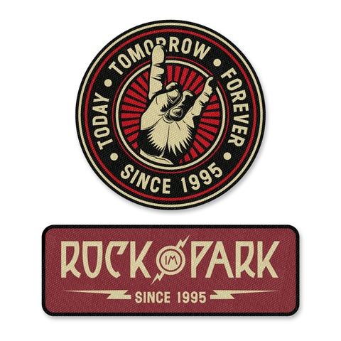 √Rock im Park 2018 von Rock im Park Festival - 2er Aufnäher Set jetzt im Bravado Shop
