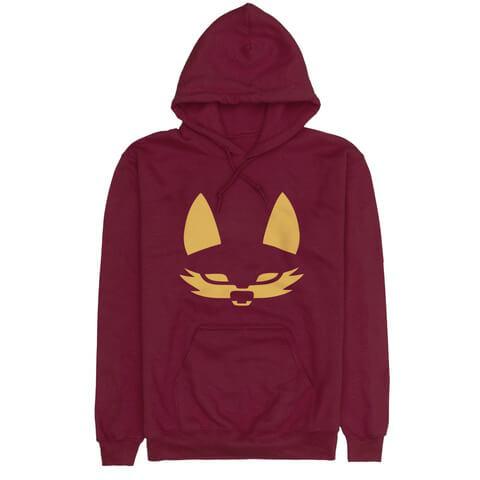 √Fuchs Logo Hoodie Bordeaux von Beginner -  jetzt im Bravado Shop