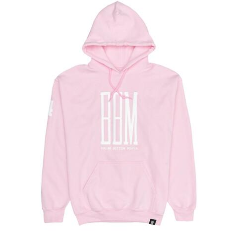 BBM Logo Hoodie rosa von BBM - Hoodies jetzt im Bravado Shop