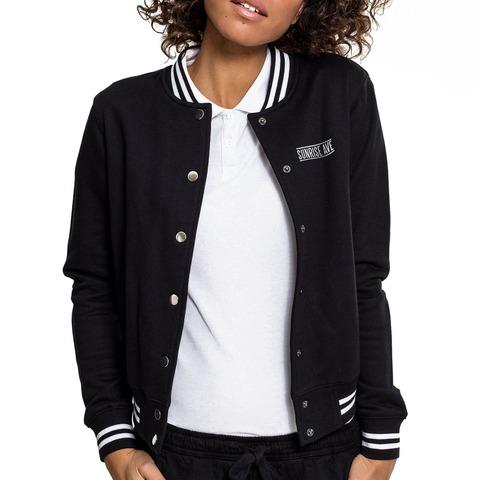 √Logo Heart Embroidery von Sunrise Avenue - College Jacket jetzt im Bravado Shop